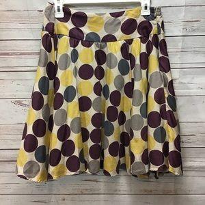 Twenty One Womens Skirt Polka Dot Sz M